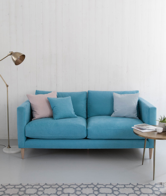 Fenton Sofa in Teal