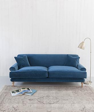 Cabyn velvet sofa