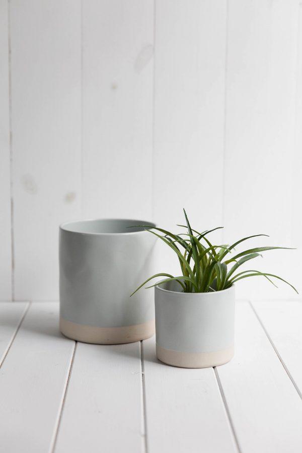 Mineral plant pot
