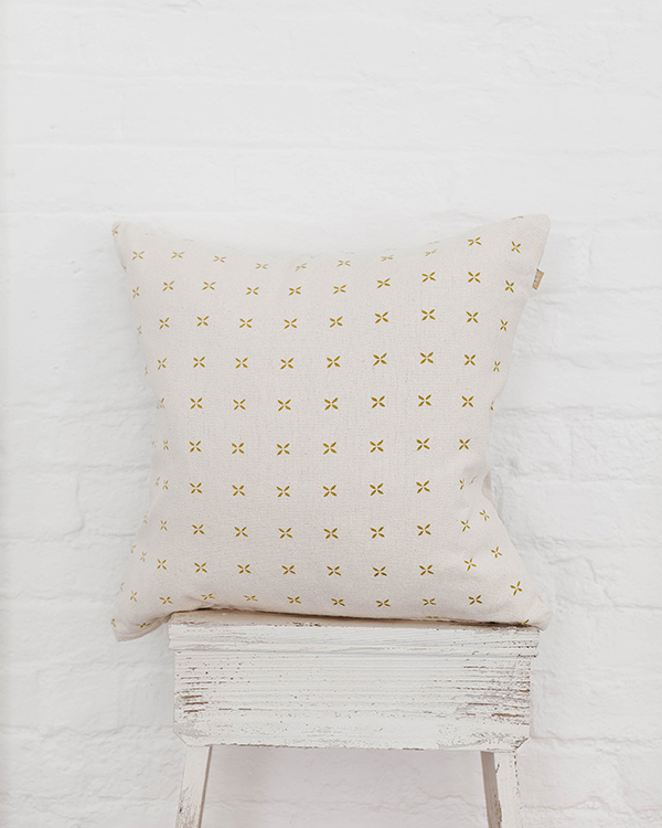 Moss Cross Cushion
